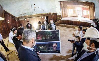 Inician obras de restauración en el Teatro de Villarrica