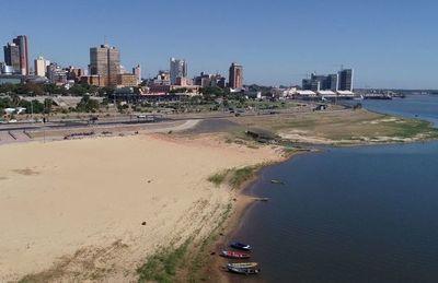 Aunque hubo un leve ascenso, el río Paraguay seguirá con tendencia a la baja