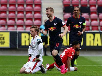 Timo Werner devuelve al Leipzig al tercer puesto