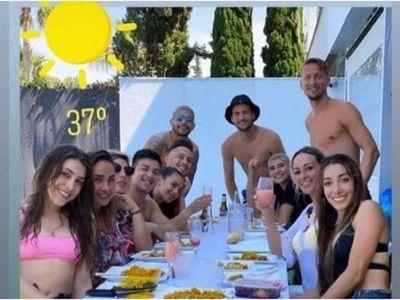 Fuerte polémica envuelve a jugadores de Sevilla