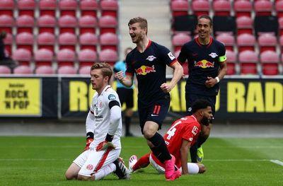 Triplete de Werner en goleada del Leipzig