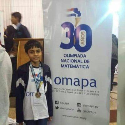 Alumno del C.N.C.9 ganó medalla de oro