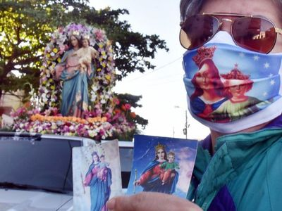 María Auxiliadora abraza a Asunción en tiempos de Covid-19
