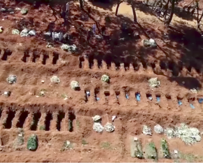 Arman un mega cementerio en ciudad brasileña