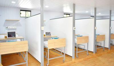 Habilitan hospital modular