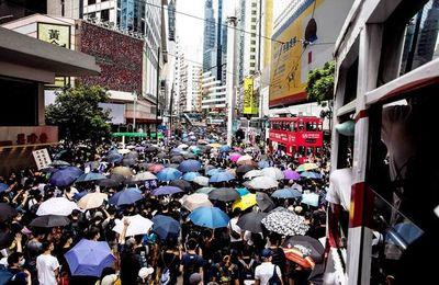 """Protesta en Hong Kong contra norma """"antisubversiva"""" que buscan imponer"""
