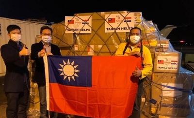 HOY / Llegó avión carguero con donaciones de Taiwán