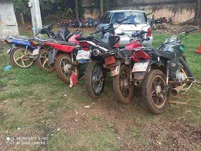 Incautan seis motocicletas en Minga Guazú, tras encuentro deportivo