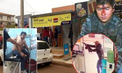 Detienen a un bandido tras fallido asalto a un local comercial en el Km 8 Acaray – Diario TNPRESS