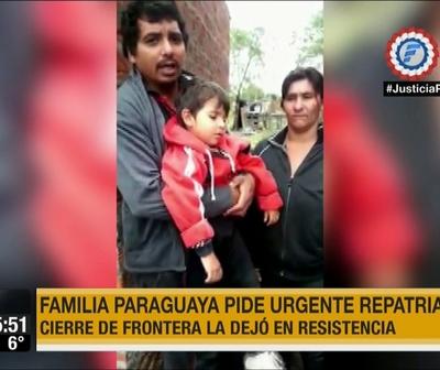 Viajaron por una cirugía y quedaron varados en Argentina