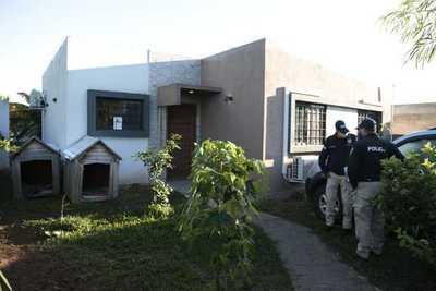 Caso Juliette: Fiscalía allana vivienda en Ypacaraí