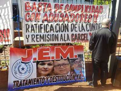 JEM decide mañana sobre remoción de camaristas que liberaron a violador
