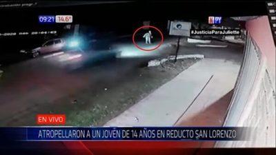 Adolescente atropella a un hombre con el auto de sus padres