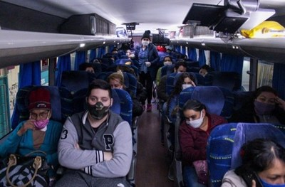 Carlos Arrechea anuncia albergues para misioneros que quieran retornar de otros países