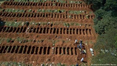 Brasil roza los 375.000 casos de coronavirus y muertos llegan a 23.473