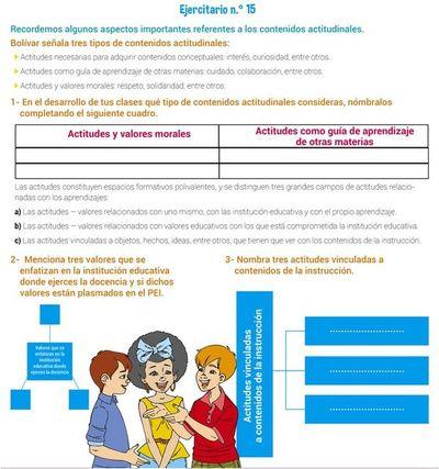 Sistema de evaluación (15)