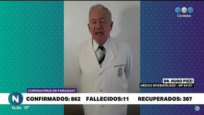 Habló el médico argentino tras sus polémicas declaraciones