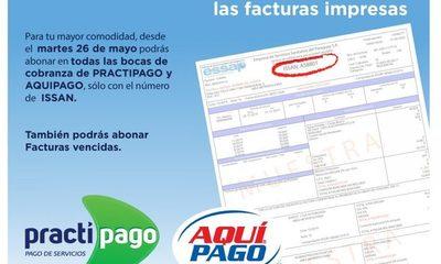 ESSAP implementa pago con facturas electrónicas
