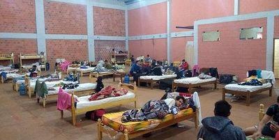 1.671 paraguayos están en albergues