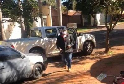 Particulares usan camioneta del Ministerio de Salud para violar protocolo de Covid-19 en PJC