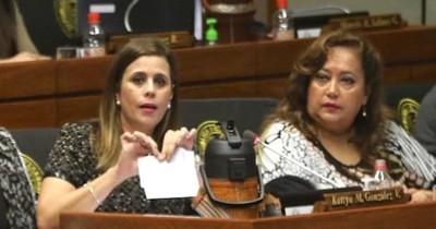 Queremos medidas más duras, reclama Kattya González a Mazzoleni