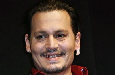 Johnny Depp es perfecto para interpretar al Joker y esta imagen lo demuestra