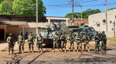 Militar que estuvo haciendo guardia en la cárcel de CDE dio positivo al COVID-19