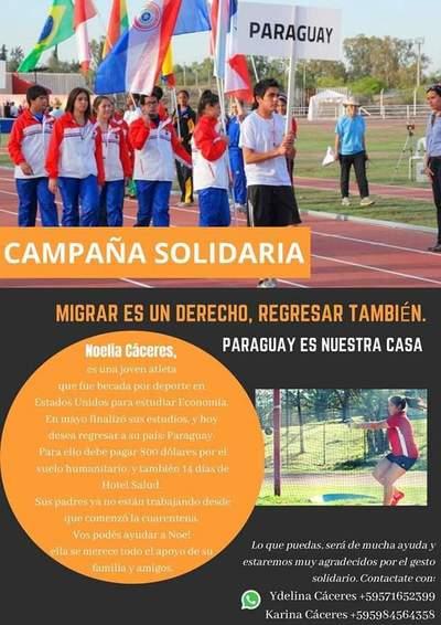 Campaña solidaria para volver a casa