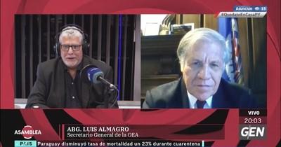 Secretario de la OEA admite que uso de la fuerzas públicas podría ser una opción en Venezuela