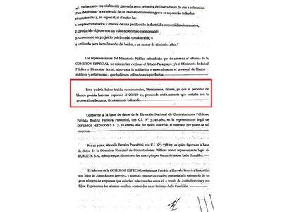 Lenta reacción de Mazzoleni para denunciar irregular adquisición