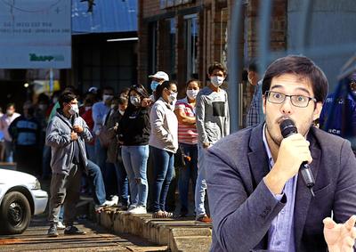 """""""Vamos a tener un pico, quizás no sea catastrófico"""" indicó Sequera – Prensa 5"""