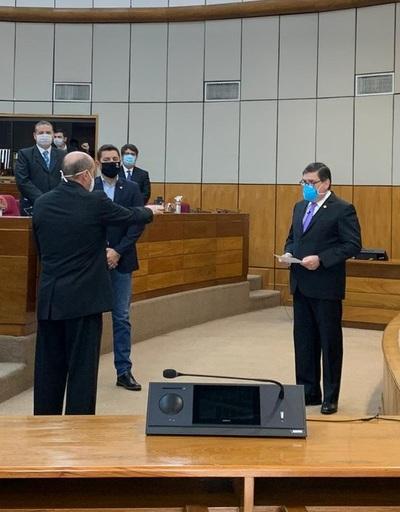 César Diesel juró como nuevo ministro de la Corte Suprema de Justicia