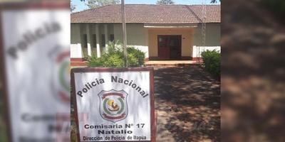 HURTAN MATERIALES DE CONSTRUCCIÓN DE ESCUELA DE NATALIO.