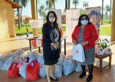 Turquía realizó donación para los niños de albergues del Ministerio de la Niñez