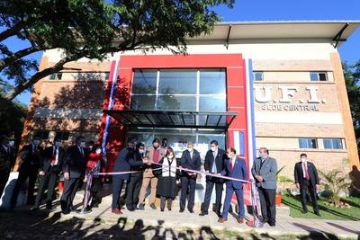 La Unión del Fútbol del Interior inauguró su hermosa casa propia a 61 años de su fundación