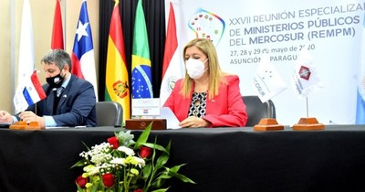 Sandra Quiñónez dio apertura a la XXVII reunión de fiscales del Mercosur