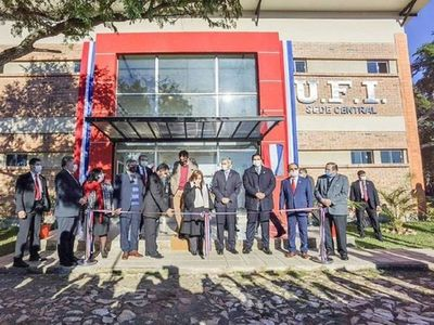 Día histórico: UFI inaugura sede propia en Ypacaraí