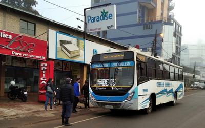 CDE: Realizan controles en los buses para prevenir propagación del Covid-19