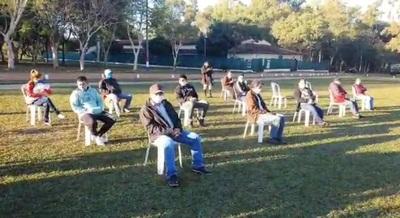 Otro grupo de compatriotas albergados fue dado de alta en Concepción