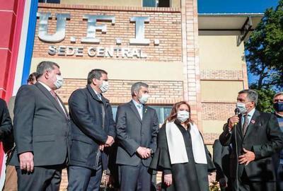 La UFI inaugura moderno local en Ypacaraí • Luque Noticias