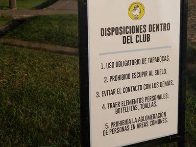 """""""Una opción sana y segura"""", San José reabrió sus puertas para las prácticas individuales"""