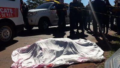 Sexagenario muere tras ser embestido por una camioneta
