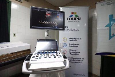Hospital de Luque recibió un nuevo ecocardiógrafo