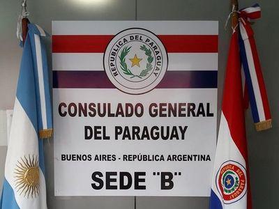 Covid-19: Consulado paraguayo en Argentina, cerrado por 14 días