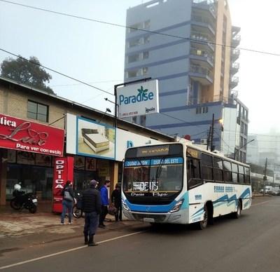 Municipalidad de CDE mantiene el controles sanitarios en los buses