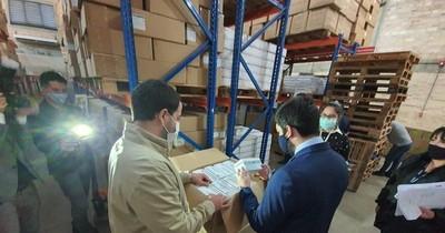 Fiscalía incautó muestras de insumos proveídos por firmas Imedic y Eurotec