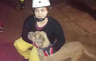 Bomberos lograron rescatar de un pozo a un perro en Itauguá