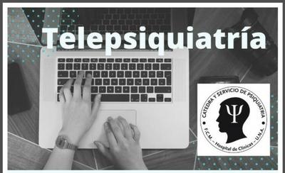 """HOY / Cátedra de Psiquiatría de la UNA habilita """"Telepsiquitría"""" para todo público"""