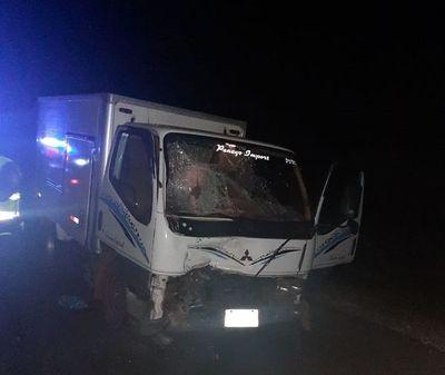 Motociclista fallece en choque frontal en acceso Paraguarí-Villarrica