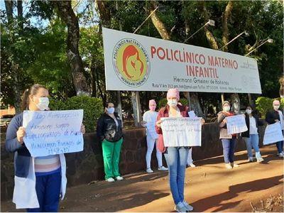 Hohenau: Enfermeros piden contratos con el Ministerio de Salud
